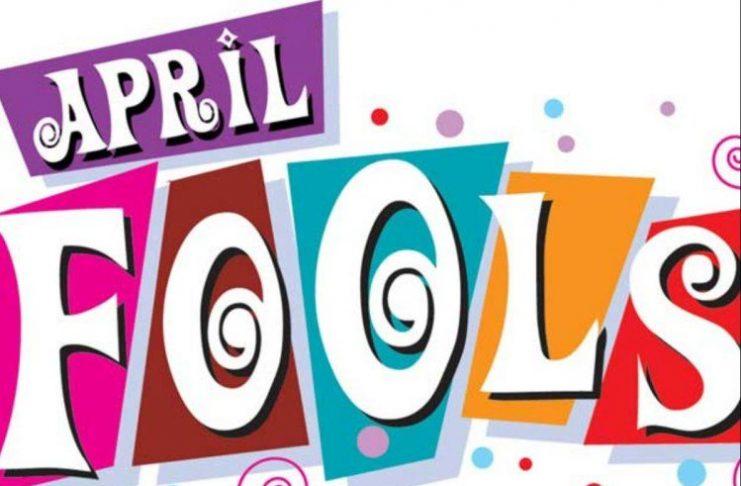 origin of April Fools'